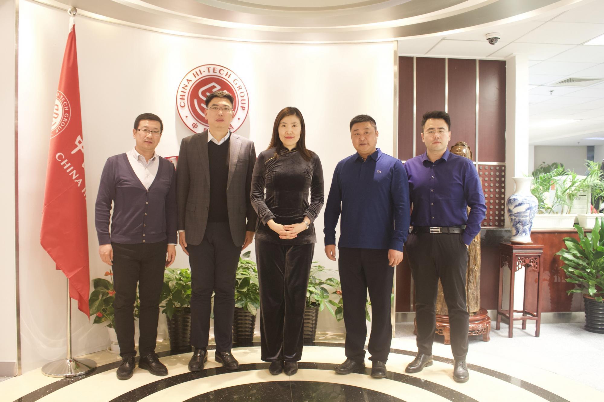 中国高科集团与张澜职业教育集团共同探讨产教深度融合业务